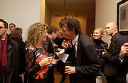 Mary Anne Sieghart and Matthew Carr, Matthew Carr exhibition opening, Marlborough Fine Art, 25 November 2003. © Copyright Photograph by Dafydd Jones 66 Stockwell Park Rd. London SW9 0DA Tel 020 7733 0108 www.dafjones.com