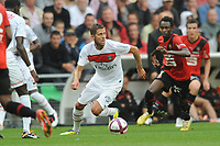 FOOTBALL - FRENCH CHAMPIONSHIP 2011/2012 - L1 - STADE RENNAIS v PARIS SG - 13/08/2011 - PHOTO PASCAL ALLEE / DPPI - JEREMY MENEZ (PSG)