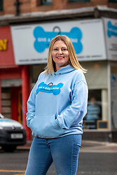 Founder Louise Russell at The Give A Dog A Bone charity in Shawlands.