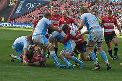 14-07-18 Johannesburg. Emirates Airlines Park. Emirates Lions vs Vodacom Blue Bulls.<br /> 1st half. The Bulls in possession during the first half.<br /> Picture: Karen Sandison/African News Agency (ANA)