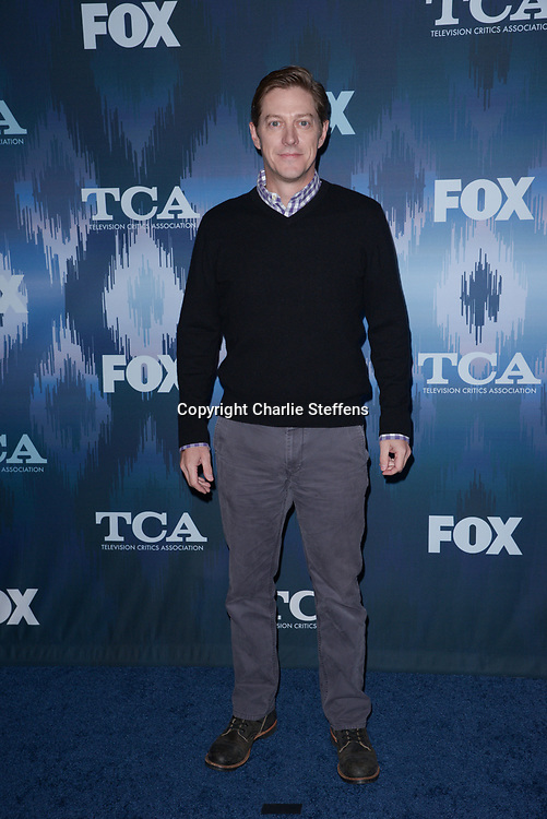 KEVIN RAHM at the Fox Winter TCA 2017 All-Star Party at the Langham Hotel in Pasadena, California