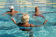 UNITED STATES-SUN CITY-Swimming pool in Sun City, a retirement community in Arizona. PHOTO: GERRIT DE HEUS .VERENIGDE STATEN-SUN CITY-  Sun City. Zwembad. PHOTO GERRIT DE HEUS