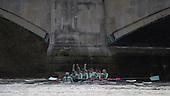 20141209 Newton Women's Boat Race, Trial Eights, London, UK