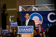 Philadelphia, PA - April 18 - Senator Barack Obama speaks at Independence Mall in Philadelphia days before the Pennsylvania Primary