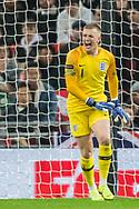 Jason Pickford (GK) (England) during the international Friendly match between England and USA at Wembley Stadium, London, England on 15 November 2018.