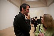 RICHARD WRIGHT 2009 WINNER TURNER PRIZE, Turner prize 2009. Tate Britain. Millbank. London. 7 December 2009