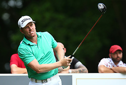 May 25, 2017 - Virginia Water, United Kingdom - Anthony Wall of England during 1st Round for the 2017 BMW PGA Championship on the west Course at Wentworth on May 25, 2017 in Virginia Water,England  (Credit Image: © Kieran Galvin/NurPhoto via ZUMA Press)