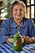 Belo Horizonte _ MG, Brasil...Retrato de  Dona Lucinha, dona do restaurante Armazem Dona Lucinha...The Lucinha portrait, she is owns of the restaurant Armazem Dona Lucinha...Foto: JOAO MARCOS ROSA / NITRO