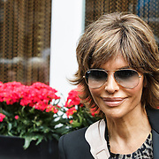 NLD/Amsterdam/20141002 - Actrice van de serie The Real Housewives of Beverly Hills in Amsterdam, Lisa Rinna