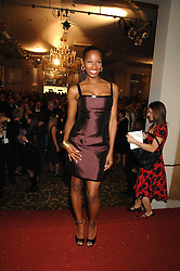 Singer JAMELIA at the Galaxy British Book Awards 2007 - The Nibbies held at the Grosvenor house Hotel, Park Lane, London on 28th March 2007.<br />