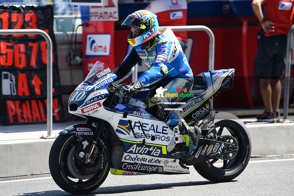 BURIRAM, THAILAND - OCTOBER 05: WHO during FP1 at the MotoGP PTT Thailand Grand Prix 2018, Chang International Circuit, Thailand on October 05, 2018. <br /> .<br /> .<br /> .<br /> (Photo by: Naratip Golf Srisupab/SEALs Sports Images)<br /> .<br /> Any image use must include a mandatory credit line adjacent to the content which should read: Naratip Golf Srisupab/SEALs Sports Images