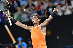 January 24, 2019 - Melbourne, Australia - Australian Open - Rafael Nadal - Espagne (Credit Image: © Panoramic via ZUMA Press)