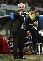 """Genova (Italy) 13/10/2007 Stadium """"Luigi Ferraris"""" Euro2008 Qualifying round - group B. qualificazioni Euro2008 Italia-Georgia.<br /> Klaus Toppmoller. 13 Ottobre 2007. Italia e Georgia 2-0.<br /> Photo by Gianni Nucci/Insidefoto"""