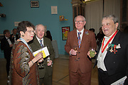 JENNIFER DICKSON RA, GILBERT AND GEORGE, SIR NORMAN ROSENTHAL, RA Annual dinner 2018. Piccadilly, 5 June 2018.