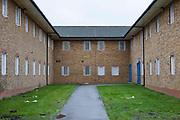 The courtyard between B and C wings. HM Prison Send is a Closed Category women's prison, located in the village of Send (near Woking), in Surrey, England. The prison is operated by Her Majesty's Prison Service. Send is a closed prison for adult females. In addition it also houses a 20 bed Addictive Treatment Unit, an 80 bed Resettlement Unit and a 40 bed Therapeutic Community. HMP Sends Education Department runs Key Skills courses and NVQs in Business Administration. The Farms and Gardens department offers Floristry NVQs, and the Works Department run an industrial workshop and painting party. Prisoners held in the Resettlement Unit can also do voluntary work, attend College courses and Work Placements in the outside community.