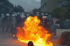Greek austerity measures protests Feb 2012