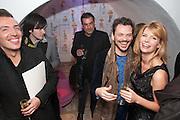 JOSEPH VELOSA; MATTHEW WILLIAMSON; MERVE LIEBELT, Maison Triumph launch to celebrate the beginning of London fashion week. Monmouth St. 14 February 2013.