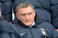 Coventry City manager Tony Mowbray during the Sky Bet League 1 match between Coventry City and Oldham Athletic at the Ricoh Arena, Coventry, England on 19 December 2015. Photo by Alan Franklin.