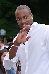 Serge Ibaka attending the Dior Homme show during the Paris Men's fashion Week Spring Summer 2018, in Paris, France on june 24, 2017. Photo by Aurore Marechal/ABACAPRESS.COM
