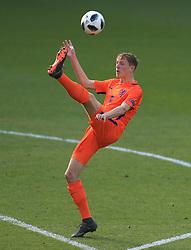 Netherlands U17's Wouter Burger