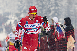 March 9, 2019 - Oslo, NORWAY - 190309 Aleksandr Bolsjunov of Russia competes in men's 50 km classic technique during the FIS Cross-Country World Cup on March 9, 2019 in Oslo..Photo: Fredrik Varfjell / BILDBYRÃ…N / kod FV / 150211. (Credit Image: © Fredrik Varfjell/Bildbyran via ZUMA Press)