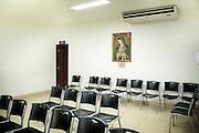 La sala di attesa dell'istituto privato Cruz Azul di Managua.<br /> 13 maggio  2016 . Daniele Stefanini /  OneShot