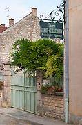 Thierry Violot Guillemard. The village. Pommard, Cote de Beaune, d'Or, Burgundy, France