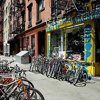 East Village bike shop