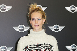 Poppy Delevingne, The World Premiere of the New MINI, Old Sorting Office, London UK, 18 November 2013, Photo by Richard Goldschmidt © Licensed to London News Pictures. Photo credit : Richard Goldschmidt/Piqtured/LNP