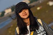 Translator Wensu Zhong, from Guangzhou, Guangdong province, China