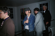 Maximillion Rebemburg, Party hosted by Sir Richard and Lady Ruth Rogers at their house in Chelsea  to celebrate the extraordinary achievement of completing this year's Pavilion  by Olafur Eliasson and Kjetil Thorsenat at the Serpentine.  13 September 2007. -DO NOT ARCHIVE-© Copyright Photograph by Dafydd Jones. 248 Clapham Rd. London SW9 0PZ. Tel 0207 820 0771. www.dafjones.com.