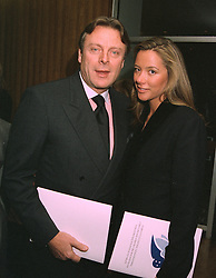 MR RICCARDO MAZZUCCHELLI estranged husband of Ivana Trump and MRS SAMANTHA WICKENS, she was married to art dealer Simon Phillips, at a concert in London on 29th October 1997.MCO 10