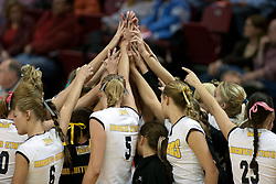19 November 2005: Shockers get set for action. The Wichita State Shockers electirfied Redbird Arena in Normal Illinois and unnested the Redbirds from their home in 3 straight games.