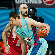 FC Barcelona Regal's Erazem Lorbek (F) during their Euroleague Final Four semifinal Game 2 basketball match Olympiacos's between FC Barcelona Regal at the Sinan Erdem Arena in Istanbul at Turkey on Friday, May, 11, 2012. Photo by TURKPIX