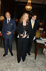 HRH PRINCE & PRINCESS MICHAEL OF KENT at a party to celebrate the publication of Andrew Robert's new book 'Waterloo: Napoleon's Last Gamble' and the launch of the paperback version of Leonie Fried's book 'Catherine de Medici' held at the English-Speaking Union, Dartmouth House, 37 Charles Street, London W1 on 8th February 2005.<br />