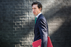 London, UK. 21 May, 2019.  Rory Stewart MP, Secretary of State for International Development, arrives at 10 Downing Street for a Cabinet meeting.