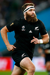 Liam Coltman of New Zealand (All Blacks) during the Bronze Final match between New Zealand and Wales Mandatory by-line: Steve Haag Sports/JMPUK - 01/11/2019 - RUGBY - Tokyo Stadium - Tokyo, Japan - New Zealand v Wales - Bronze Final - Rugby World Cup Japan 2019