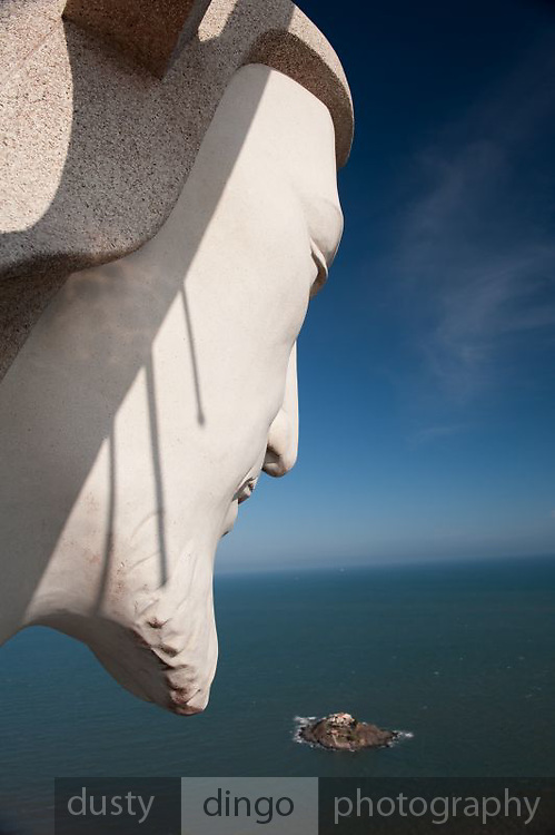 """Christ of Vung Tau"" overlooking South China Sea.<br /> Vung Tau, Vietnam"
