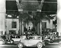 1929 Grauman's Chinese Theater movie premiere
