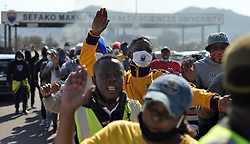 South Africa - Pretoria - 20 July 2020 - Sefako Makgatho Health and Sciences University students protesting their campus in Ga-Rankuwa.<br /> Picture: Oupa Mokoena/African News Agency (ANA)