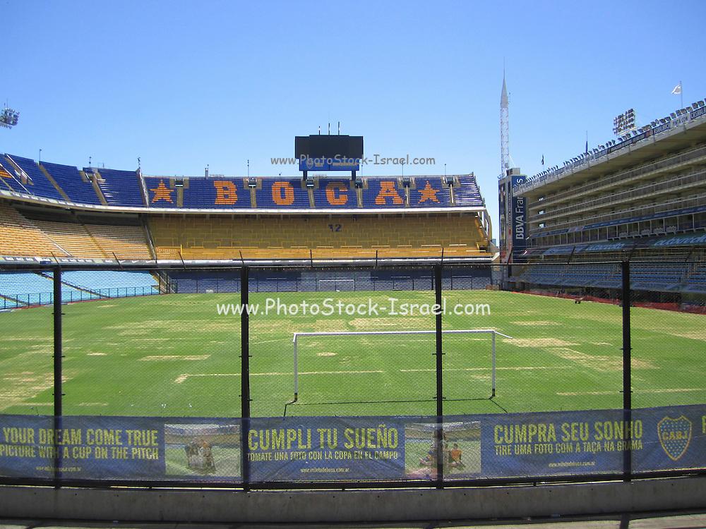 Boca soccer Stadium Home of Boca Juniors, Buenos Aires, Argentina