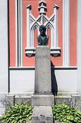 Litwa, Wilno 08.07.2014. Cmentarz na Wileńskiej Rossie - grób Joachima Lelewela