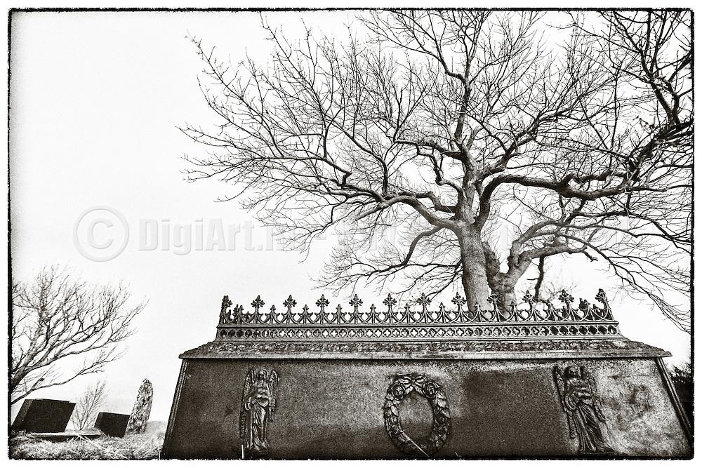 Black & White version of Grayveyard  | Sort hvit versjon av Gravplass.