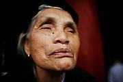 "Hanoi, Vietnam. March 11th 2007..A Vietnamese woman in the ""Van Mieu"", the Literature Temple"