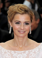 Anne Consigny at the the premiere of the French film , You Ain't Seen Nothin' Yet  at the Cannes Film Festival on Monday 21st May 2012. Photo by: Stephen Lock / i-Images