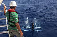 01/Mayo/2013 Arabia Saudi. Jeddah.<br /> Toma de muestras de zooplancton en el Mar Rojo por parte de científicos de la universidad de KAUST.<br /> <br /> © JOAN COSTA