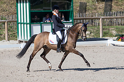 Vos Sanne (NED) - TC Champ of Class DVB<br /> European Championship Poney - Fontainebleau 2012<br /> © Dirk Caremans