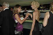 Francesca Versace and Margot Stilley, GQ Men Of The Year Awards, Royal Opera House, London, WC2. 5 September 2006. ONE TIME USE ONLY - DO NOT ARCHIVE  © Copyright Photograph by Dafydd Jones 66 Stockwell Park Rd. London SW9 0DA Tel 020 7733 0108 www.dafjones.com