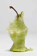 core of an eaten apple