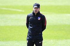 Atletico Madrid Training and Press Conference - 02 May 2018